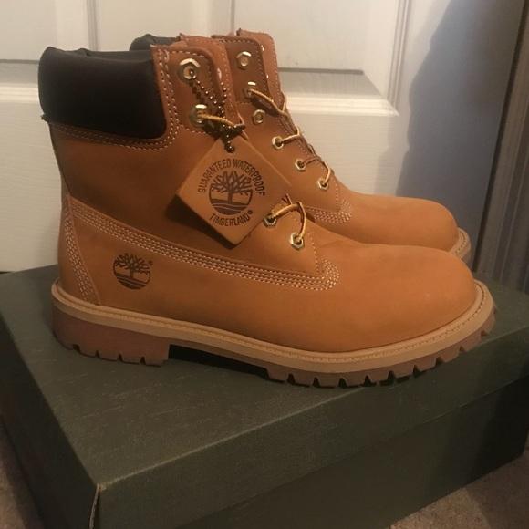 Juniorswomens Original Timberland Boots
